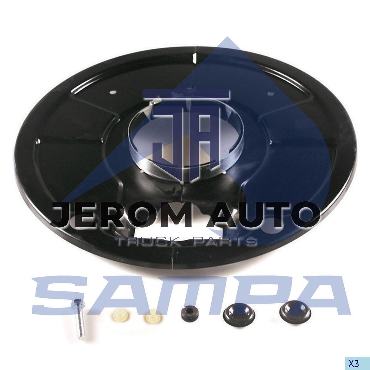 Пыльник барабана тормозной d127xd400x25 SAF \3005017100 \ 075.576