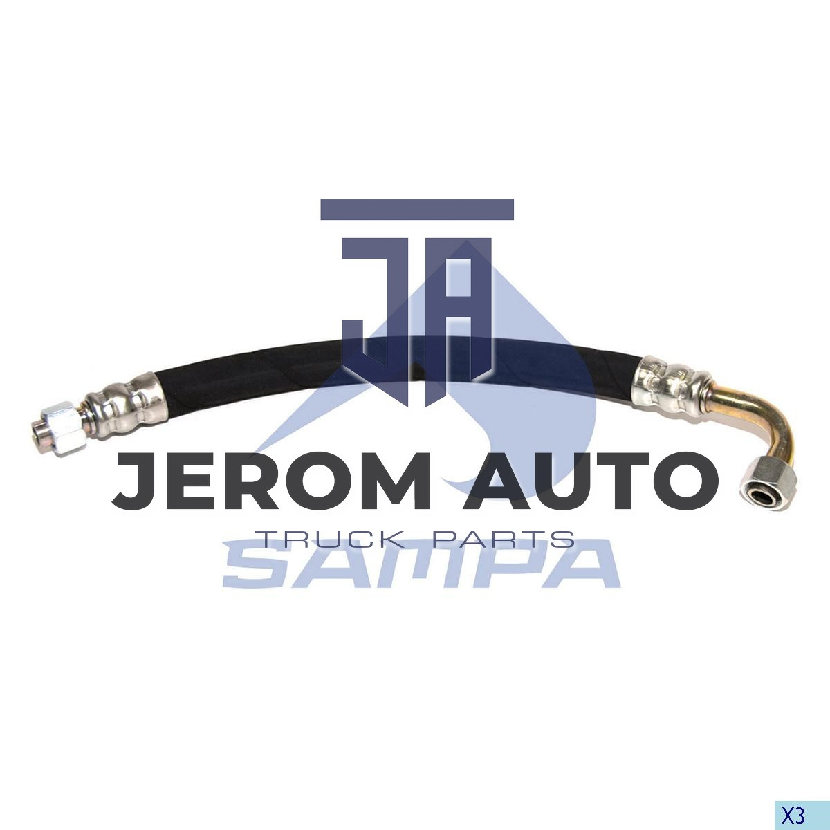 Шланг компрессора Renault 350MM M16X1 \5000790266 \ 079.116