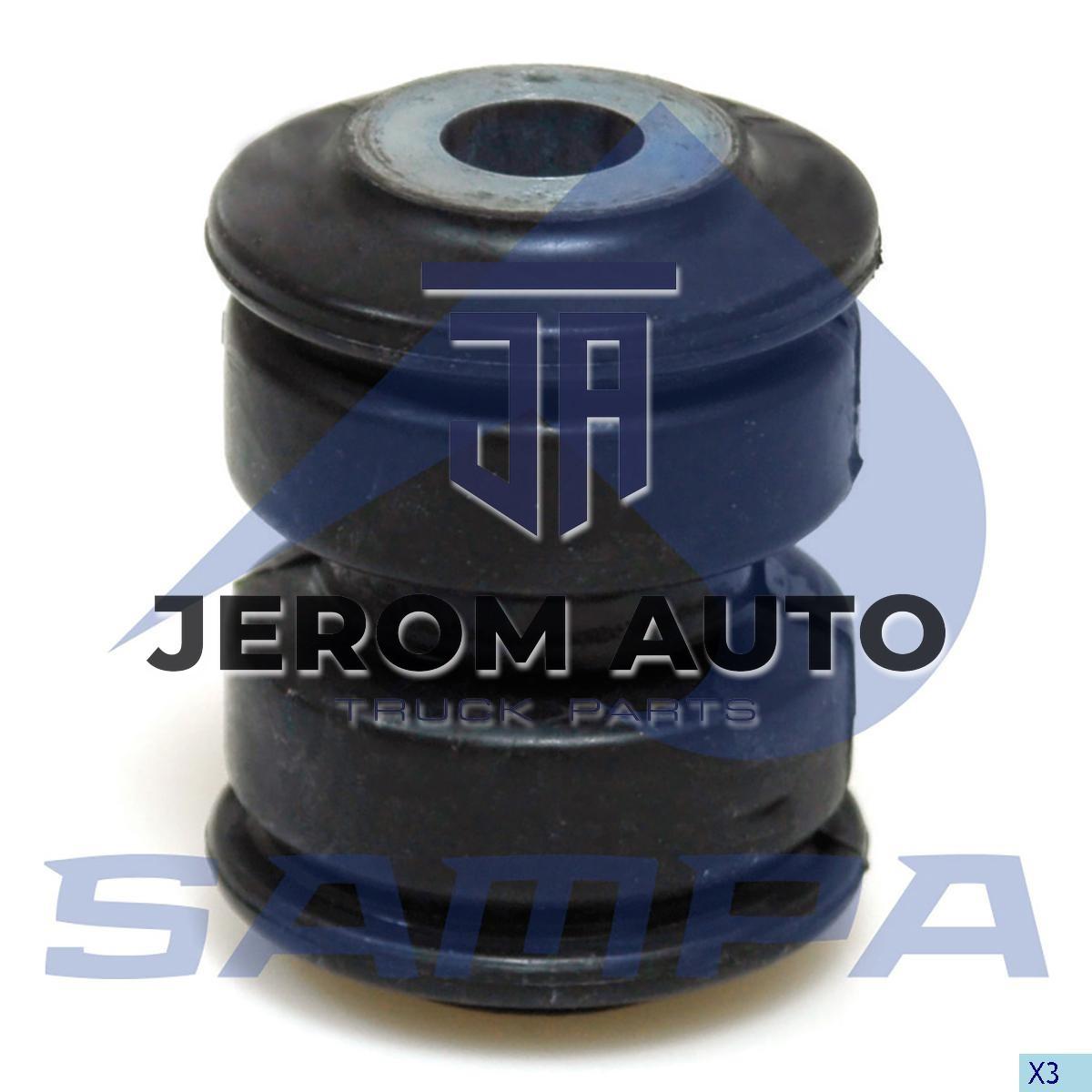 Гумова втулка ресори Renault (d16xd51x70) \5010537367 \ 080.374