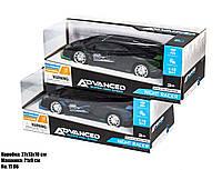 Машинка Lamborghini на пульте управления со звуковыми эффектами и светящимися фарами,цвет чёрный в коробке.