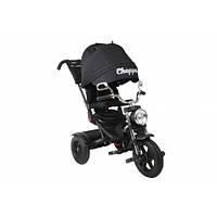 Детский Трехколесный велосипед Черный Чоппер Chopper Trike