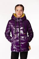 Детская демисезонная куртка для девочек Inga Сиреневый (146-164 см) на весна-осень