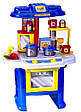 Игровая детская кухня 08912 со звуком и светом., фото 3