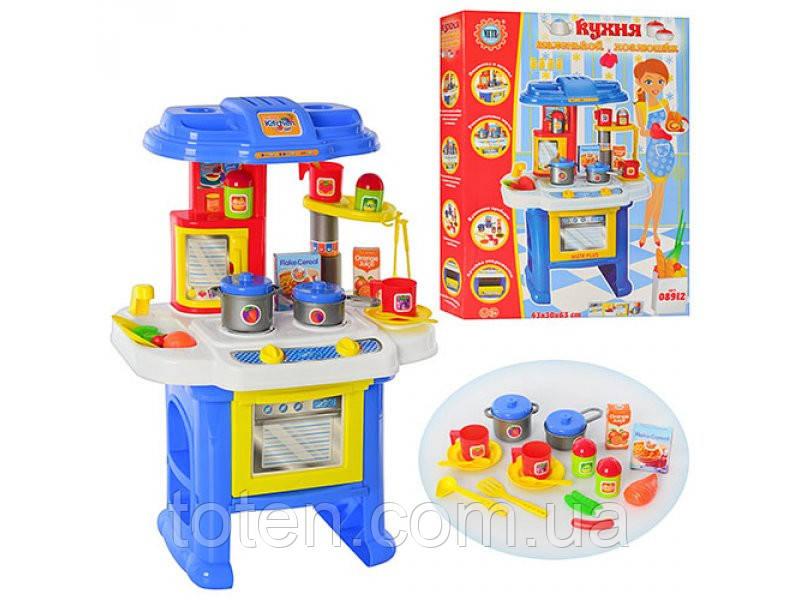 Игровая детская кухня 08912 со звуком и светом.