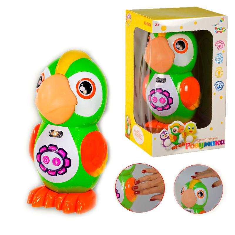 Интерактивная игрушка Папугай KI-7064