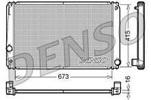 Конденсер TOYOTA RAV 4 IV (_A4_) / TOYOTA RAV 4 III (_A3_) 2005-2013 г.