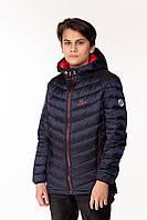 Детская демисезонная куртка для мальчика Artur Синий (146-164 см) на весна-осень