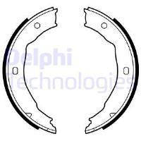 LS1881 DELPHI Барабанные тормозные колодки