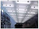 Стеклянные потолки с художественным матированием, фото 6