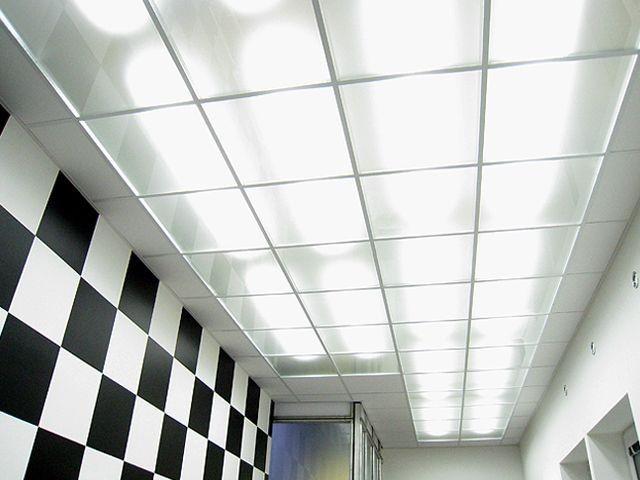 Стеклянные потолки для офиса