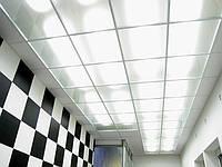 Стеклянные потолки с подсветкой