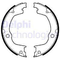 LS2106 DELPHI Барабанные тормозные колодки