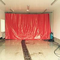 Шторы,завесы из ПВХ ткани для автомойки