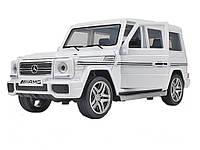 Игрушечная машинка Mercedes Benz G65 AMG 1:32 Gelenvagen amg g63 Белый