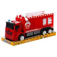 Пожарная машина игрушка 689-5B инерционная, Bambi