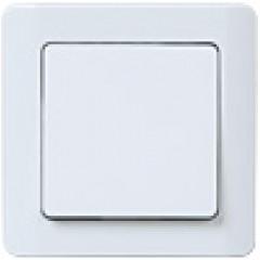 ВСп10-1-0-ГБ Выключатель 1кл проходной (белый)