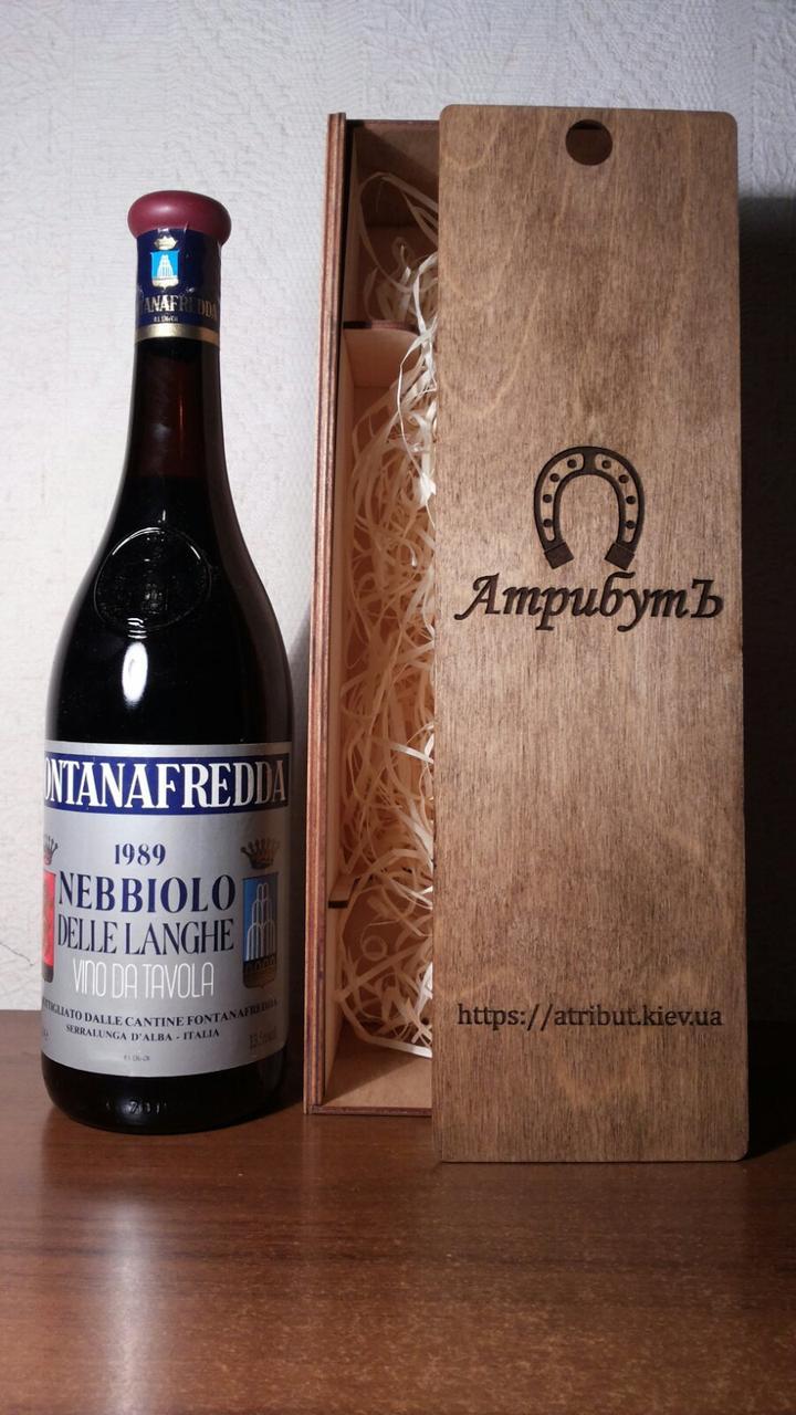 Вино 1989 года Nebbiolo Италия