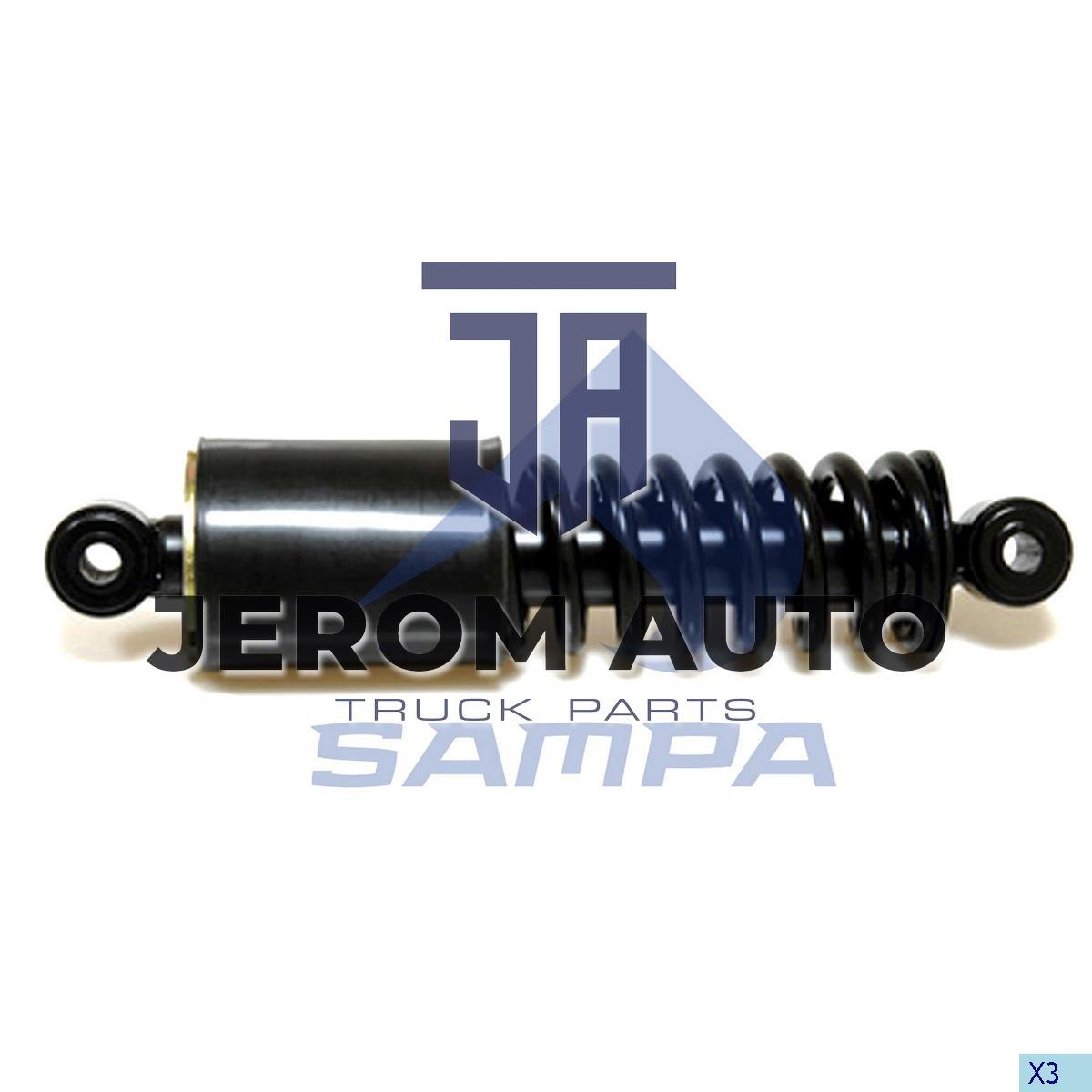Амортизатор кабины Mercedes Atego,Axor (L223-301) задний \9408904719 \ 100.165