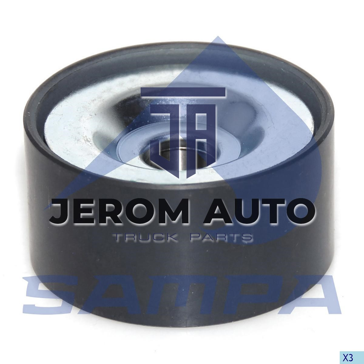 Натяжной ролик вентилятора Mercedes (d20xd74x38) \0005501933 \ 100.302