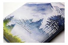 Біблія середнього формату (гори, шкірзам, золото, індекси, блискавка, 15х20), фото 2
