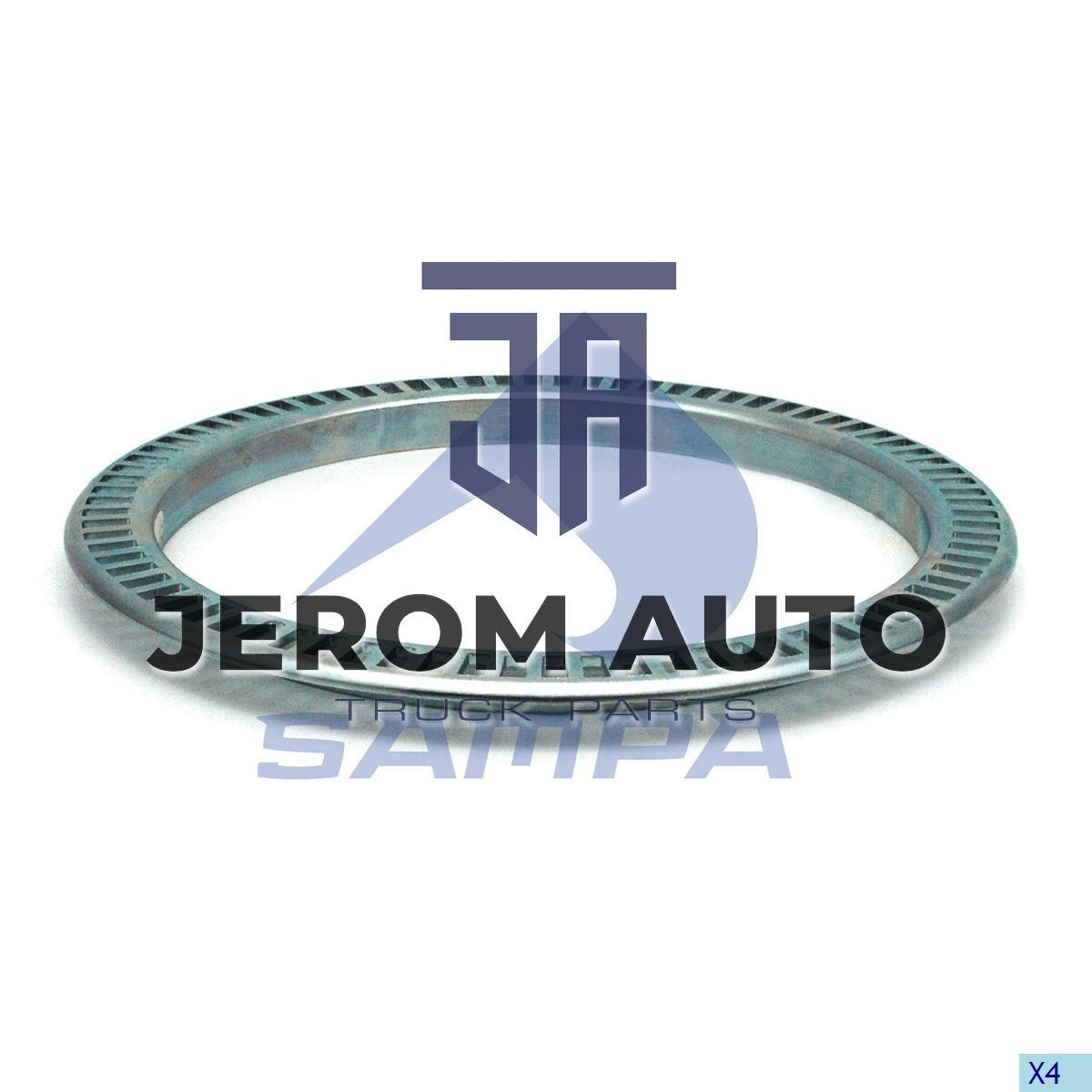 Кольцо ABS d143.8xD177x11.7 Z = 80 MM Mercedes перед \9753340415 \ 203.442