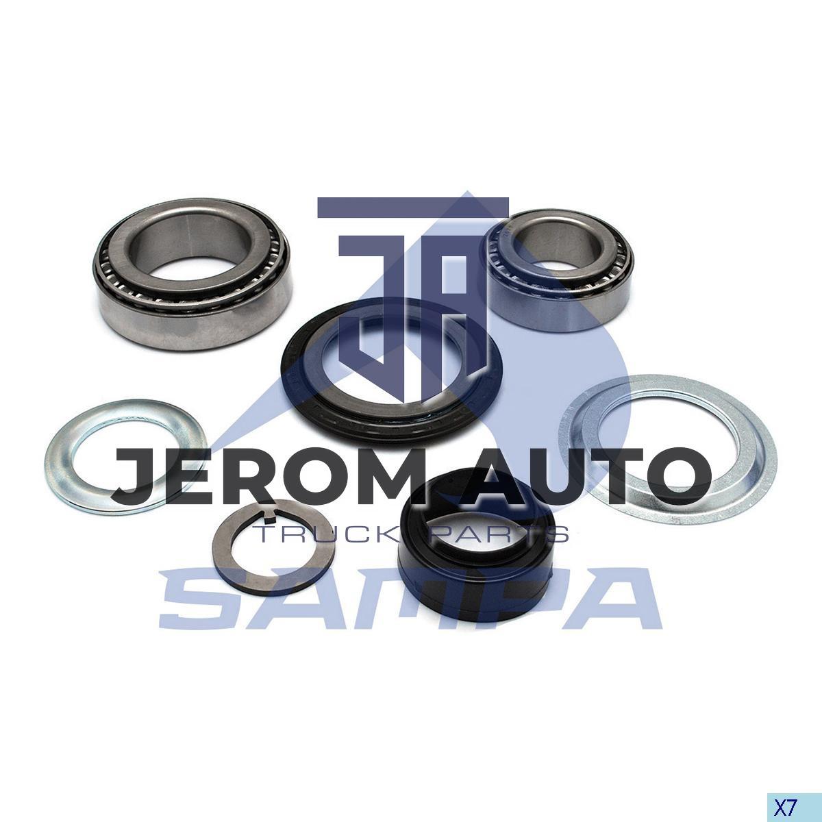 Ремкомплект подшипников ступицы колеса в наборе BPW (d90xd150x45/d65xd120x41) \0980106260 \ 070.606/SD