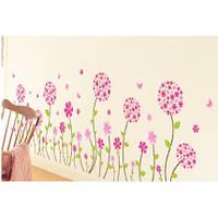 Интерьерная наклейка на стену Цветы mAM7017 45x150см