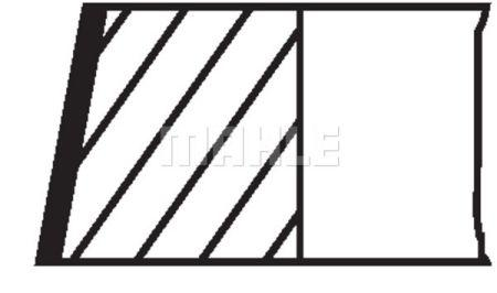 Комплект колец на поршень MERCEDES-BENZ / FORD / SEAT / VW / AUDI
