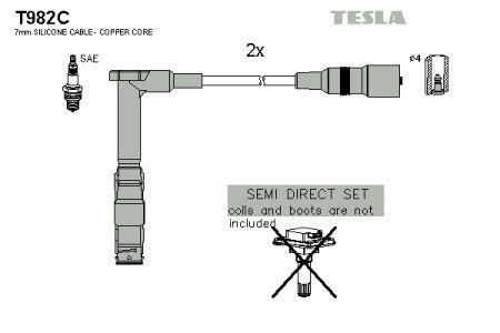 Комплект кабелей зажигания MERCEDES-BENZ CLK (C208) 1993-2006 г.