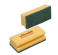 Губка Виледа средняя жесткость (зеленый абразив), 15 х 7 см, Vileda Professional