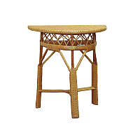 Столик  из лозы плетёный