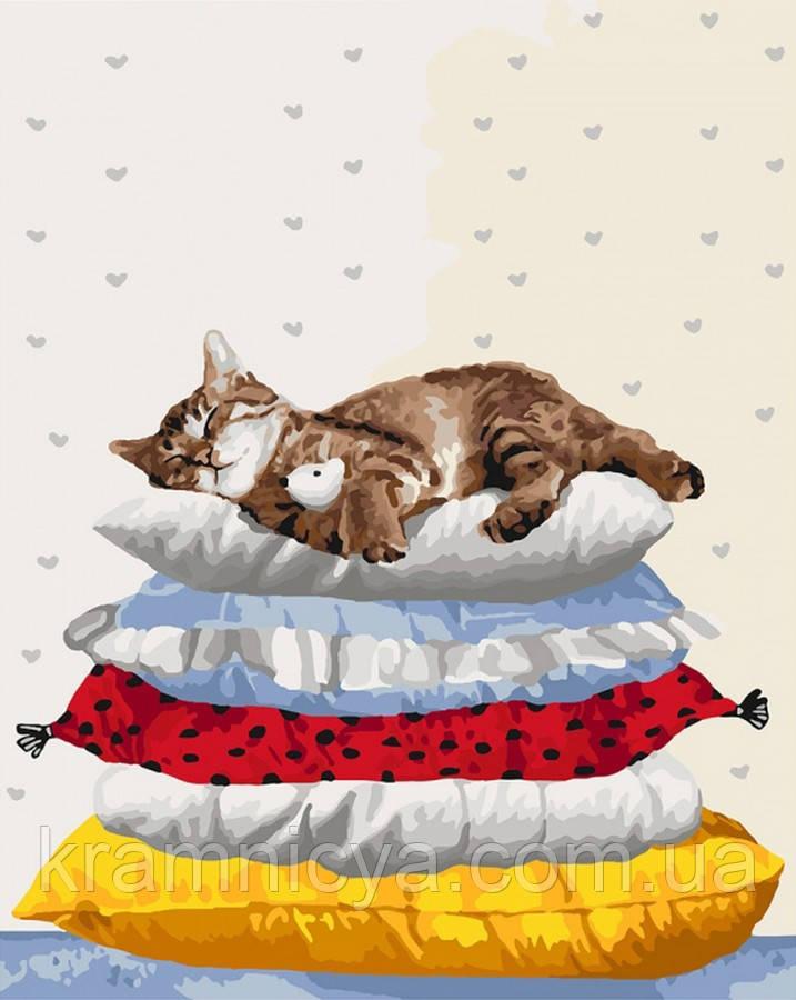 Картина по номерам 40x50 Сладкий сон 2 (КНО4152)