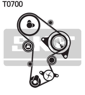 Комплект (ремень + ролики) AUDI Q5 (8RB) / AUDI TT (8J3) / AUDI A3 (8P1) 2003-2019 г.