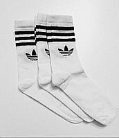 Высокие белые носки Adidas