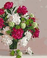 Картина по номерам 40x50 Пионы (КНО3072), фото 1
