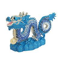 Символ Талисман  Драгоценный синий Дракон