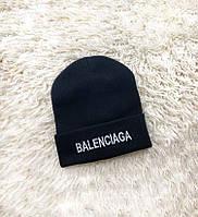 Зимняя шапка Balenciaga черная