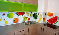 Кухонный фартук из стекла фрукты купить в Никополе