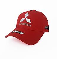 Кепка с логотипом авто Mitsubishi Sport Line - №3702