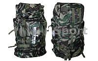 Рюкзак туристический V-45л мягкий хаки DAIWA TY-1021 (PL, NY, р-р 61х37,5х16см, хаки)