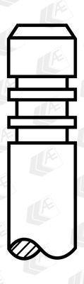 Выпускной клапан HOLDEN / OPEL / DAEWOO / CHEVROLET / SAAB / VAUXHALL / FIAT