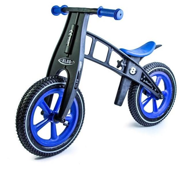 Беговел Balance Trike пластиковый колеса надувные 12 синий