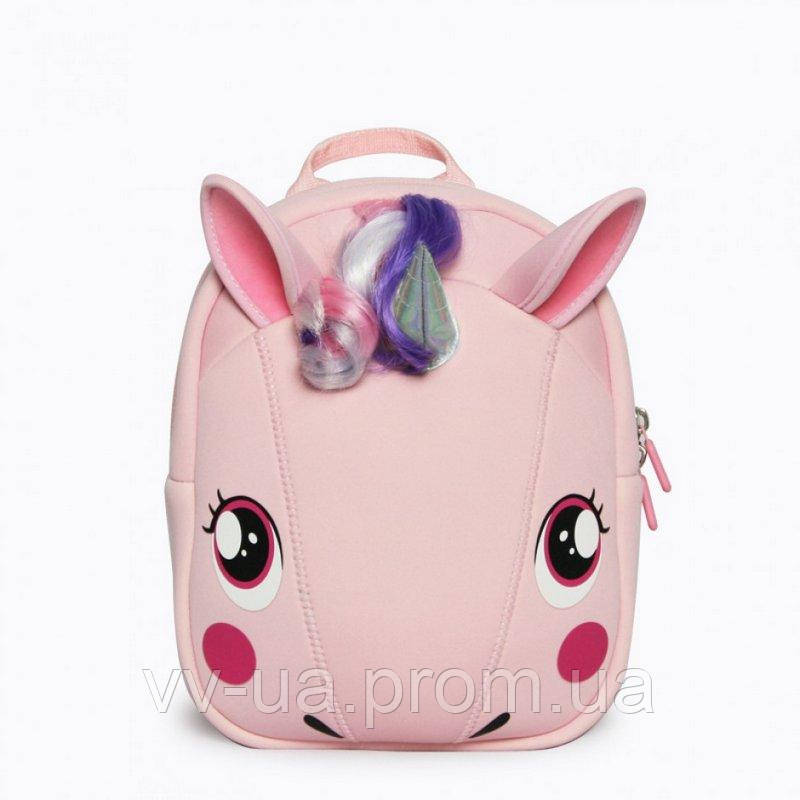 Рюкзак детский Supercute Единорог, для девочек, розовый (SF064-a)