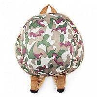 Рюкзак детский Supercute Милитари, для мальчиков, зеленый (SF026-е), фото 1