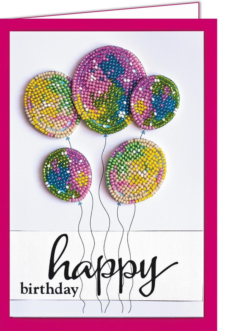 Набор - открытка 3D для вышивки бисером  Исполнения желаний