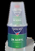 Акриловый грунт Solid 2K ACRYL 0,8 л + отверд. (черный)
