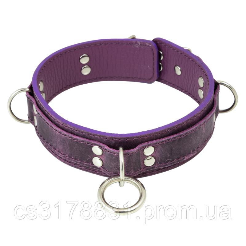 Ошейник LOVECRAFT размер M фиолетовый