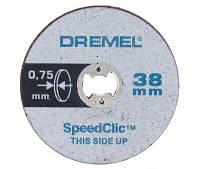 Круг отрезной по металлу DREMEL SpeedClic SC409 (5 шт)