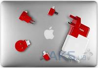 Зарядное устройство Twelvesouth PlugBug World White/Red (2.1 A) (TWS-12-1211)