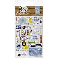 Наклейки паф - Baby Boy - Echo Park